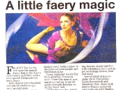 Feature in The Cornishman