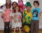 Alicia Fairy and Tickles the Pixie with Lila, Sara and Leo