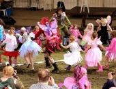 Children Dancing In A Ring
