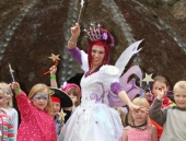 Felicity as the Fairy Queen at 3 Wishes Festival