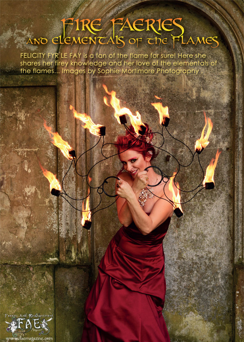 Felicity Fyr Le Fay features in the Autumn 2016 issue of FAE Magazine